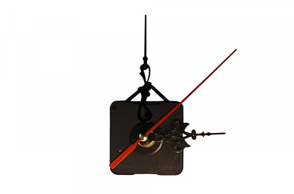 Механизм часовой с резными стрелками и подвесом