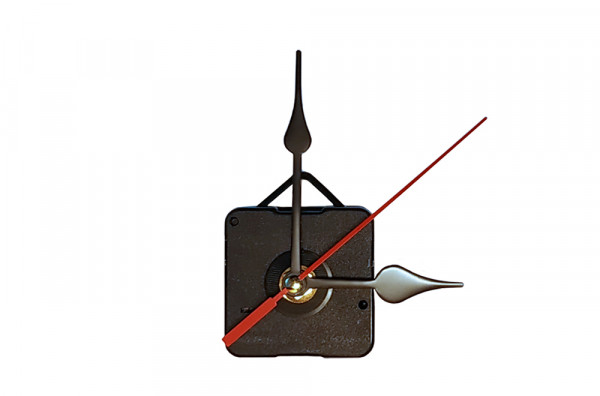 Механизм часовой с фигурными стрелками и подвесом