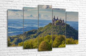 Вид на замок Гогенцоллерн