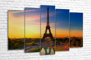 Париж на восходе