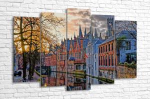 Зимняя Бельгия