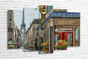 Парижская открытка