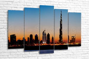 Сумеречный Дубай