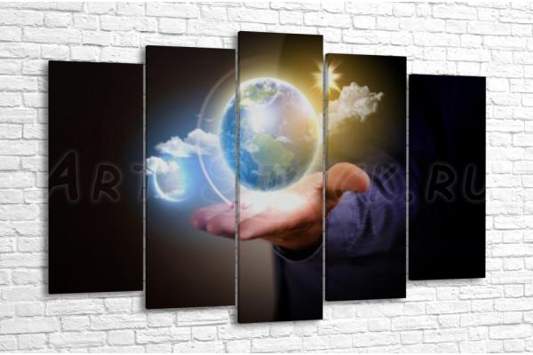 Мир в руках человека