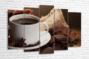 Кофе, шоколад, корица