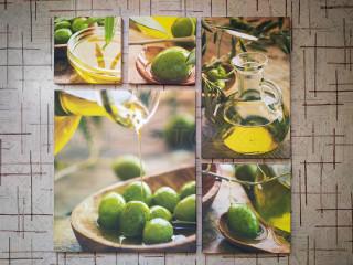 Оливковый коллаж