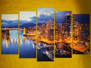 Ночной Ванкувер