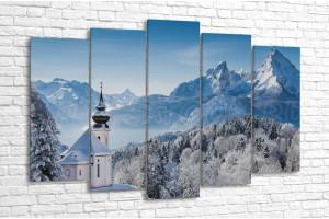 Зимняя Бавария