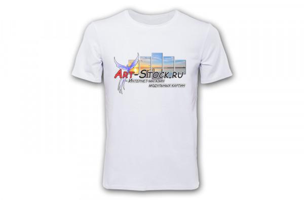 Печать на футболках [белые]