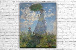 Прогулка. Дама с зонтиком