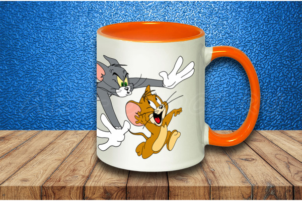Кружка «Том и Джери»