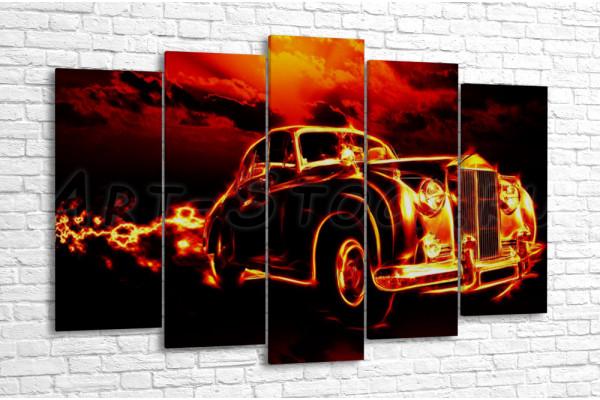 Огненное авто