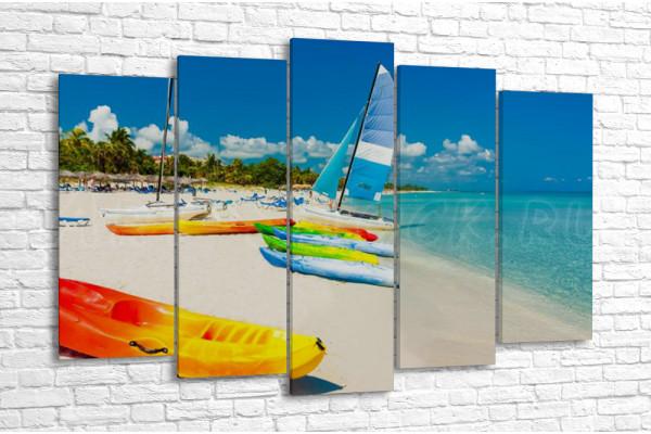 На кубинском пляже