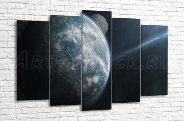 Над другой планетой